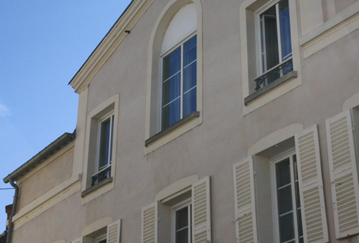 Le portic, INSEAD housing