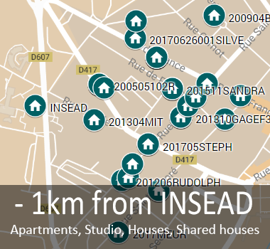 Coliving @INSEAD, INSEAD Housing community, MBA Housing, co-living Community